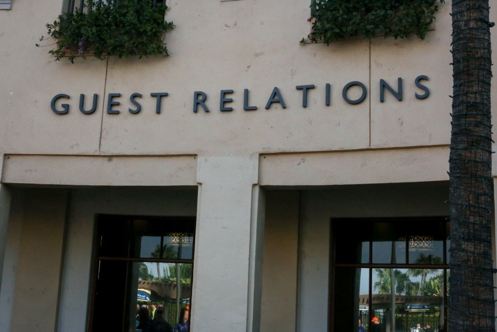 Guest Relations Exterior