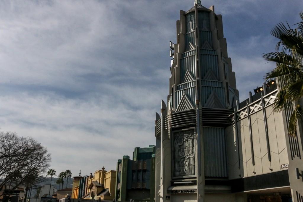 Universal's new main street