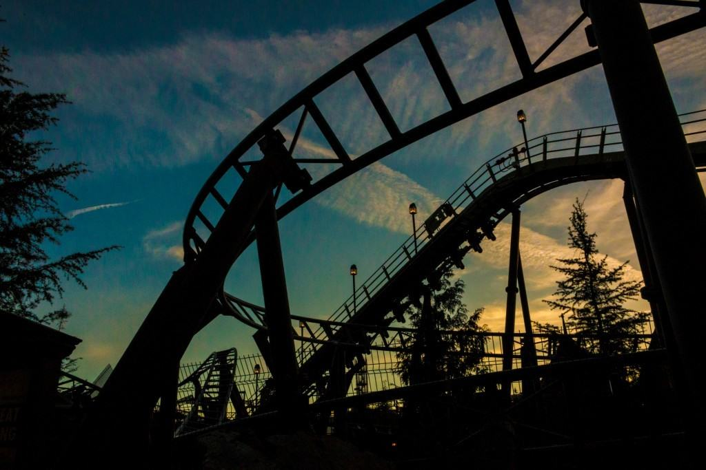 Flight of the Hippogriff sunset