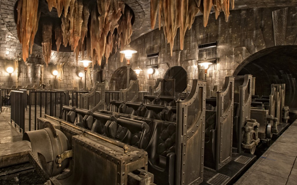 Harry Potter and the Escape from Gringotts at Orlando's Diagon Alley