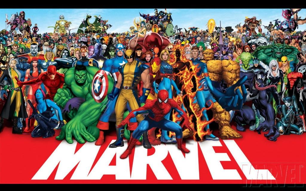 Marvel Comics's famous lineup