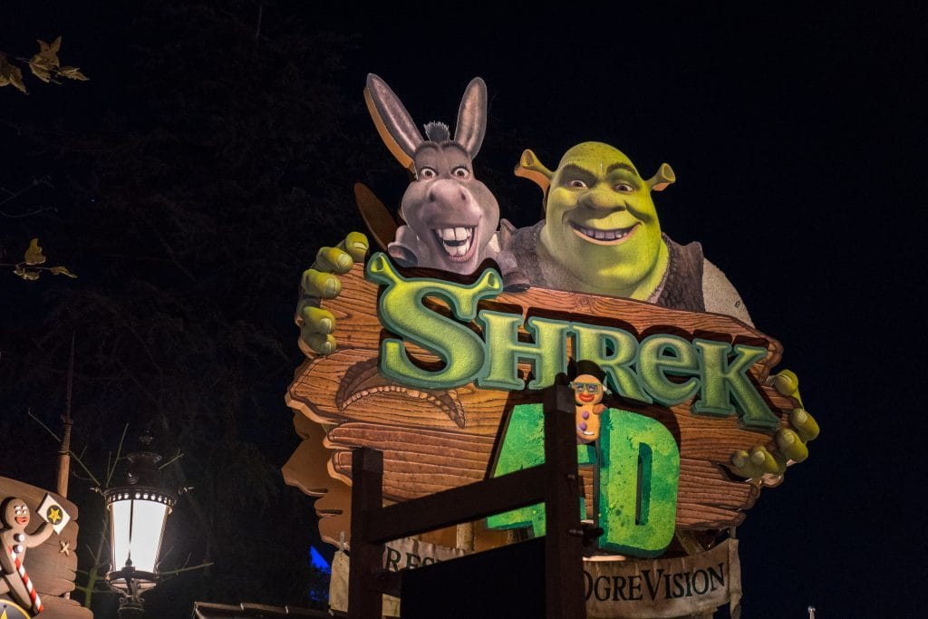 Shrek 4D at Univesral Studios Hollywood