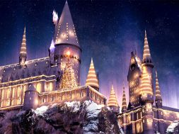 Harry Potter Christmas at Universal Studios Hollywood