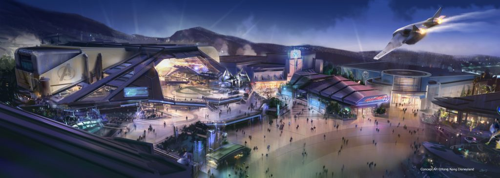 Marvel Land at Hong Kong Disneyland