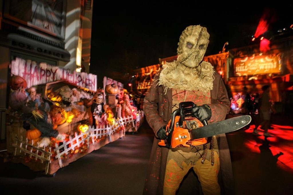 Hell-O-Ween at Universal Studios's Halloween Horror Nights 2017