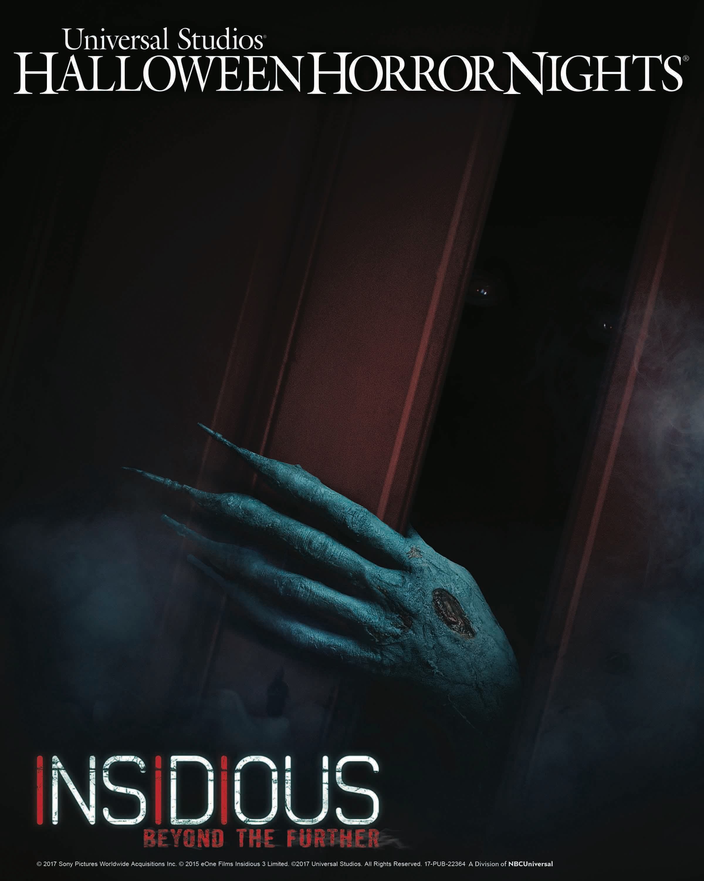 insidious beyond the further will join titans of terror and saw the games of jigsaw at universal studios hollywoods halloween horror nights which runs - Halloween Horror Nights Free Tickets