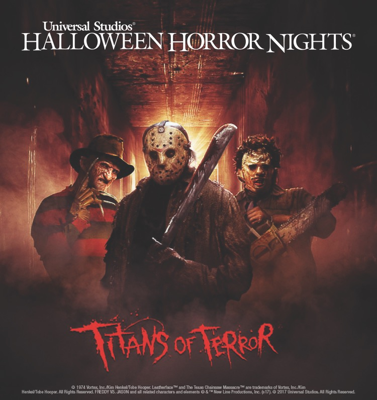 Titans of Terror Announced for Halloween Horror Nights Hollywood