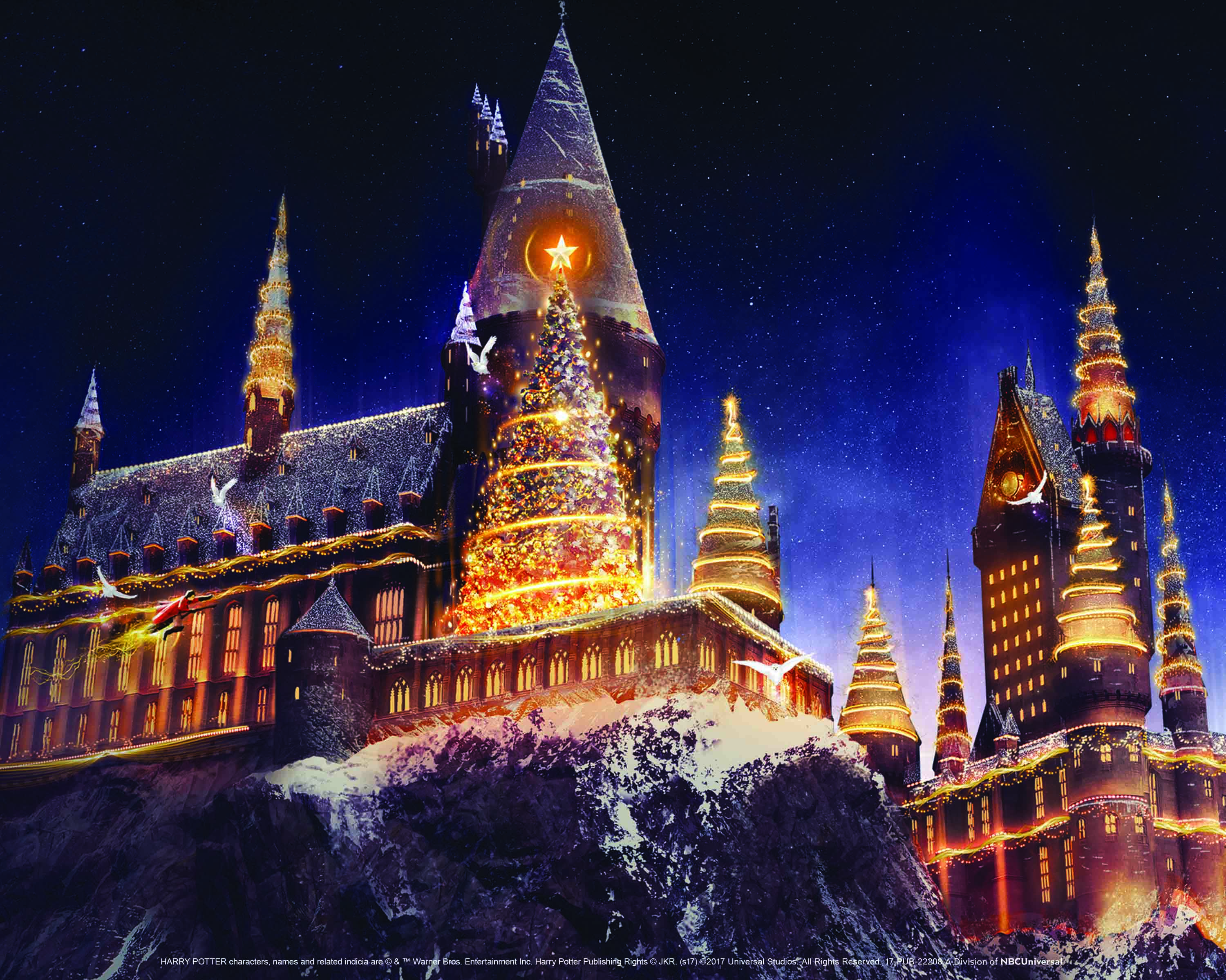 Universal is throwing its biggest Christmas celebration ever