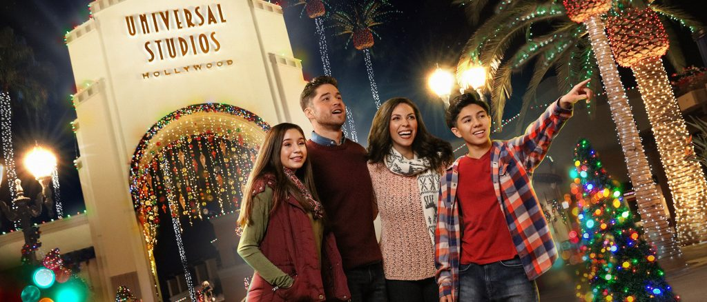 Universal Studios Hollywood's 2017 Christmas decorations