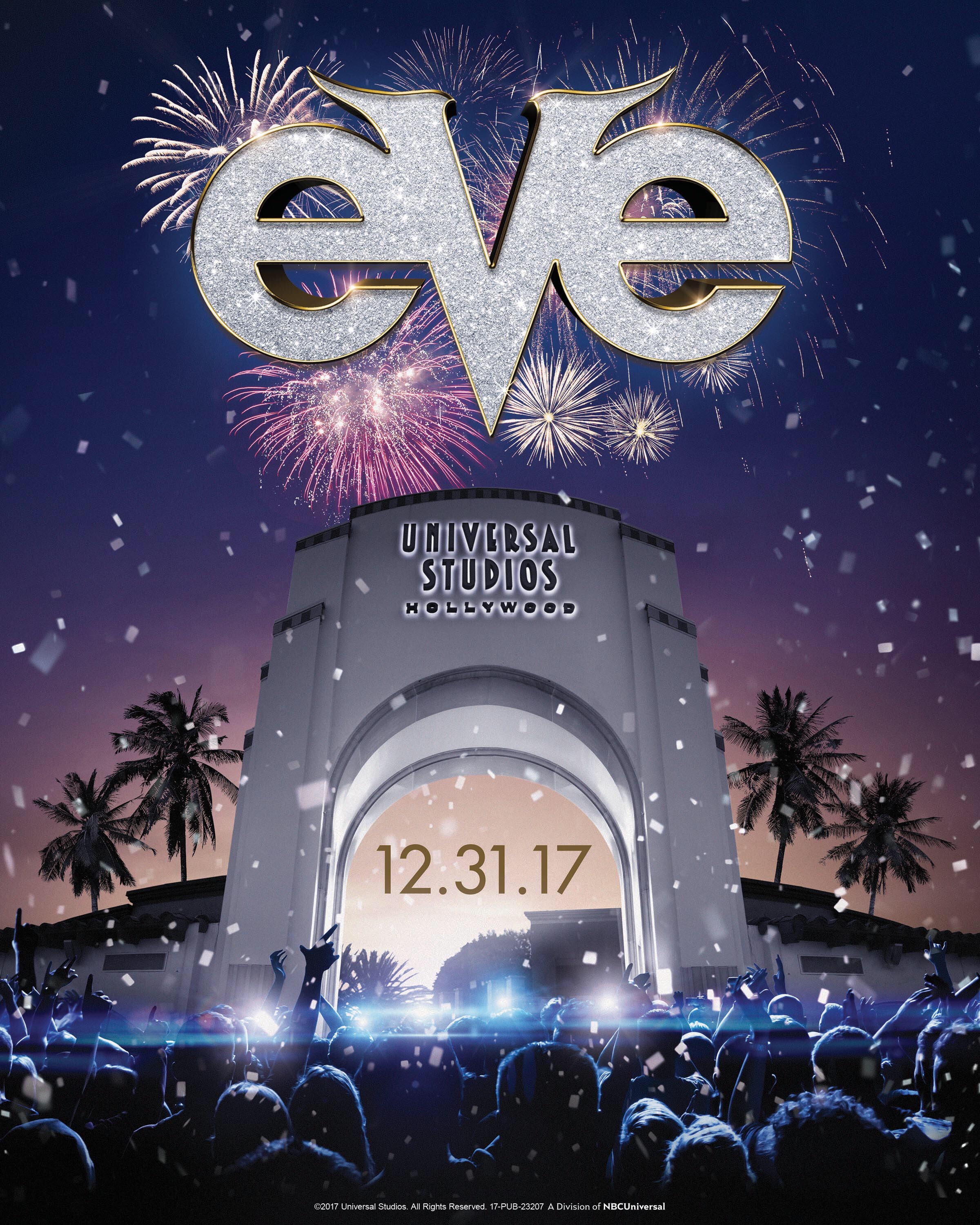 Universal Studios Hollywood Celebrating EVE
