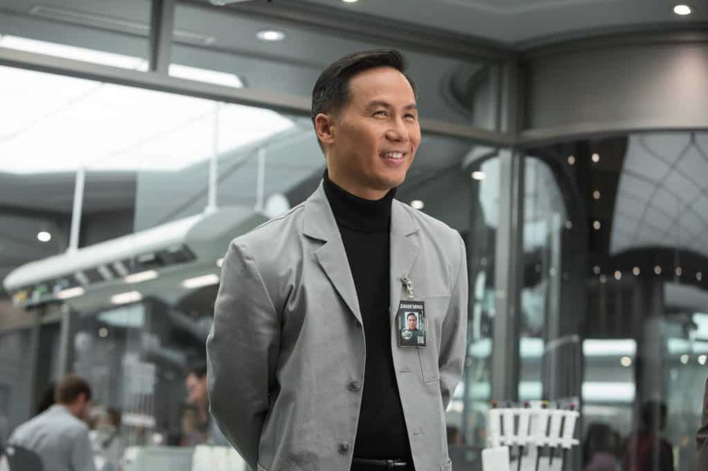 Dr. Henry Wu from Jurassic Park and Jurassic World