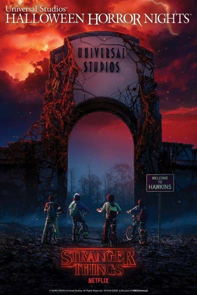 Stranger Things at Universal Studios Hollywood's Halloween Horror Nights 2018