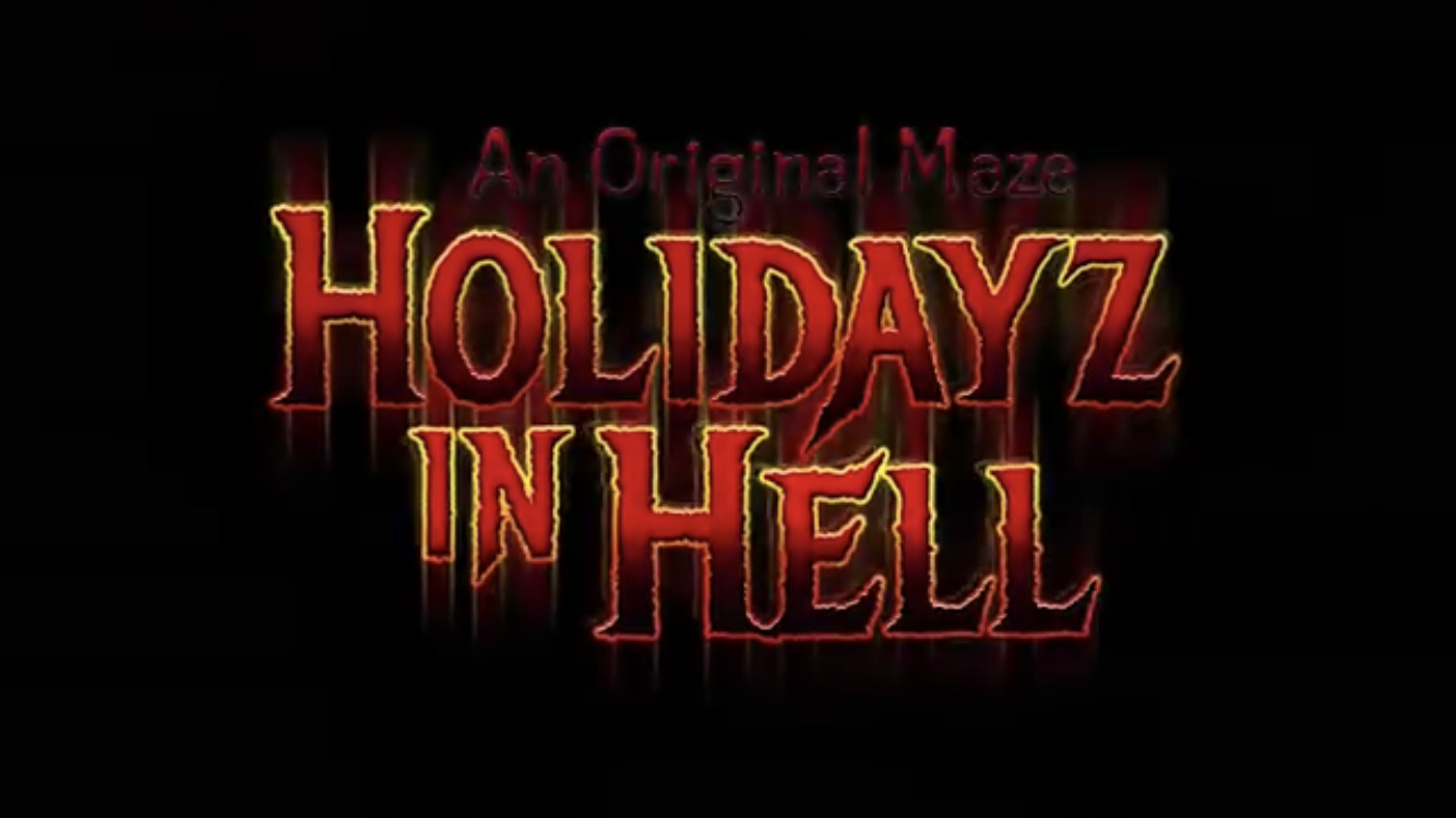 Holidayz in Hell house Revealed for Halloween Horror Nights 2019