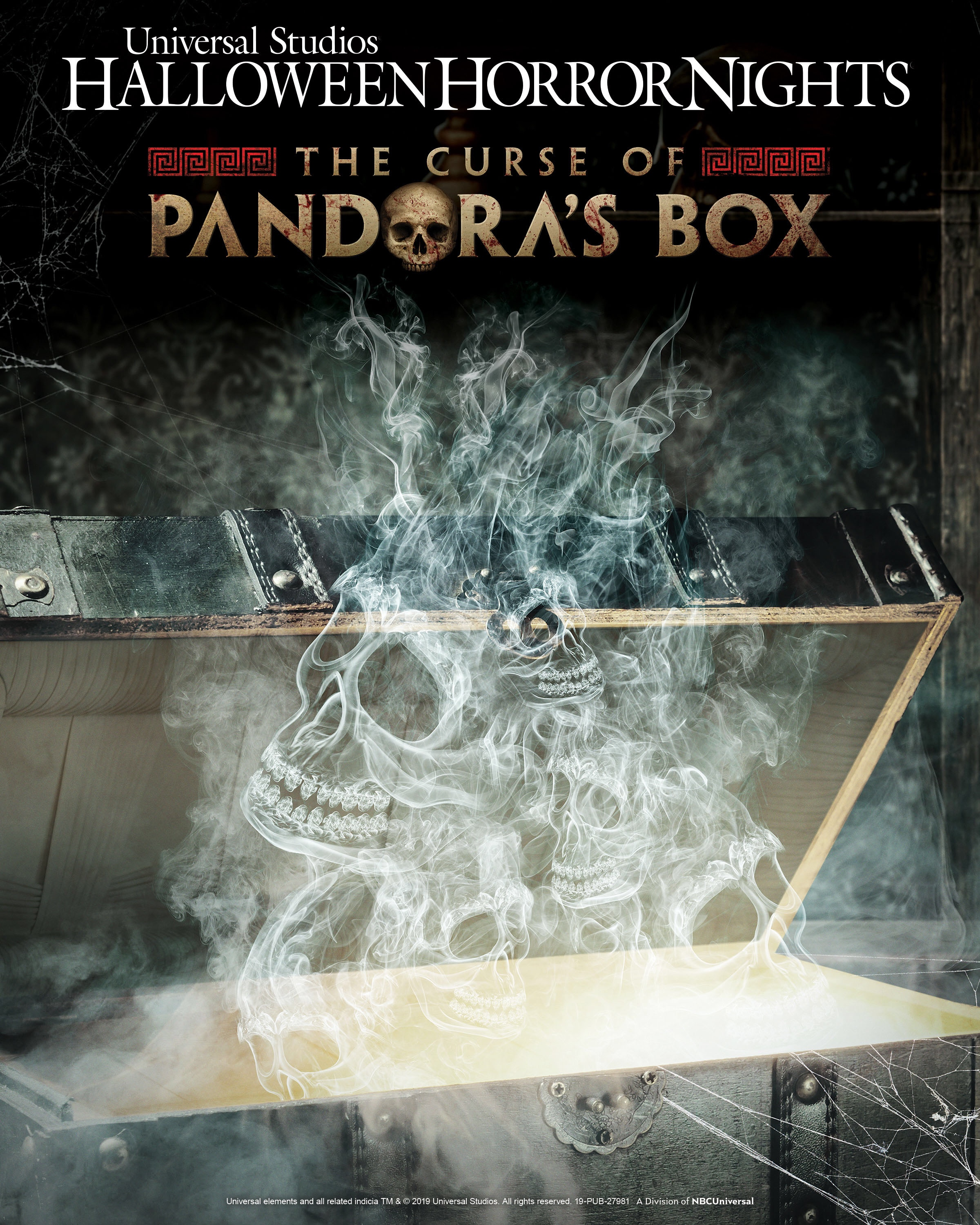 The Curse of Pandora's Box announced for Halloween Horror Nights 2019