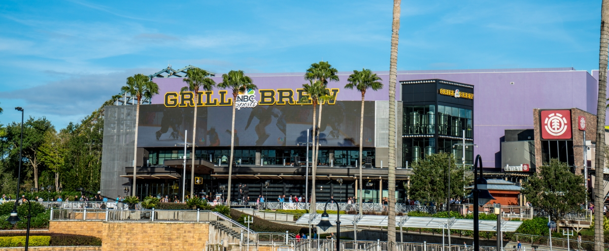 NBC Sports Grill and Brew Opens 2020 at CityWalk Hollywood
