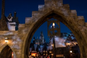 Hogsmeade at Night