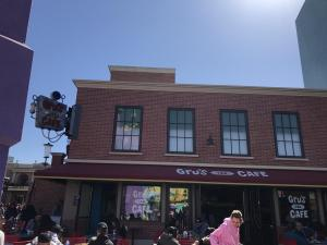 Gru's Lab Cafe at Universal Studios Hollywood